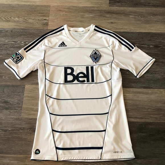 hot sale online c02e2 adfa1 Vancouver Whitecaps FC Adidas Home Jersey 2011
